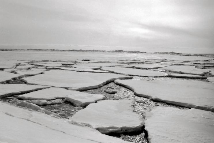 Ice melt, Northumberland Strait, NS