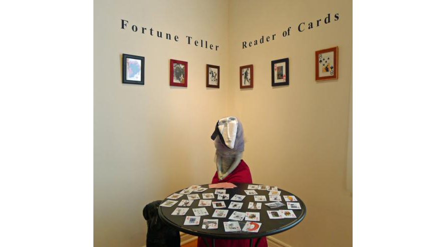 Fortune Teller, Reader of Cards